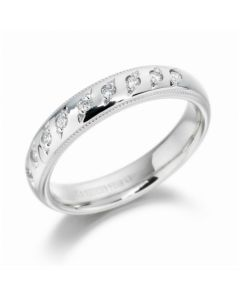 Diamond set Wedding Ring By Charles Green