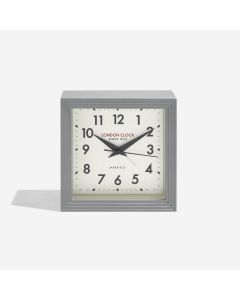 London Clock Company Express Grey Alarm Clock