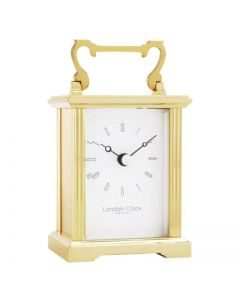 London Clock Company Solid Brass Carriage Clock