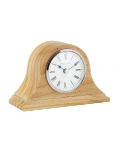 London Clock Napoleon Solid Wood Mantel Clock