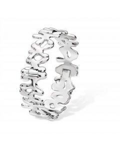 Lucy Quartermaine Continual Splash Bangle With Hinge