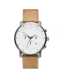 MVMT Chrono White Caramel Men's Watch