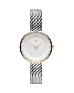 MVMT  Ladies Stainless Steel White Dial Watch