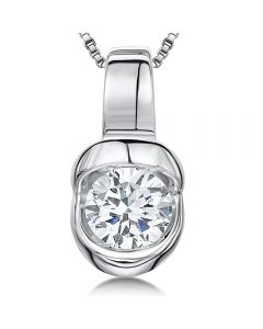 Jools by Jenny Brown Cubic Zirconia Sterling Silver Pendant