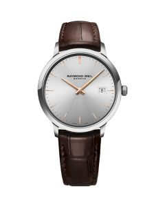Raymond Weil Toccata Mens Leather Strap Watch