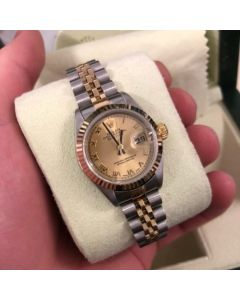 Pre-Owned Rolex Lady Datejust 26mm Bi Colour Watch