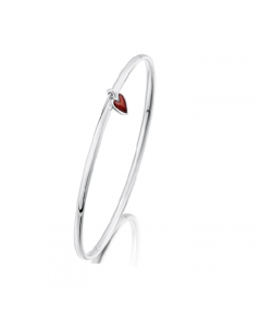 Sheila fleet secret hearts bangle bracelet