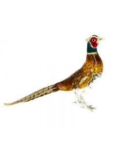 Saturno Animals Large Pheasant Figurine