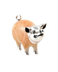 Saturno Animals Small Pig Figurine