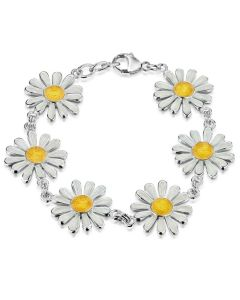 Sheila Fleet Jewellery Daisies At Dawn Bracelet