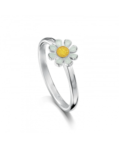 Sheila Fleet Daisies At Dawn Small Ring