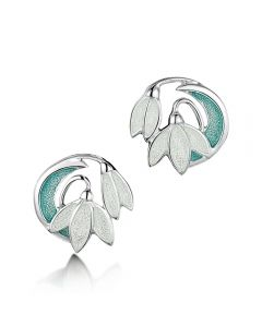 Sheila Fleet Snowdrop Stud Earrings