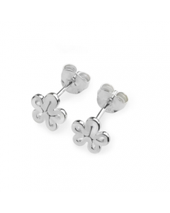 Lucy Quartermaine Open Splash Stud Earrings