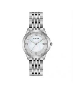 Bulova Ladies Classic Silver Watch