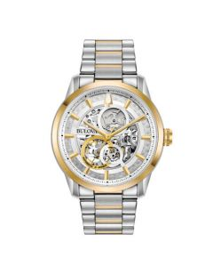Men's Bulova Automatic Skeleton Watch