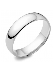 18ct White Gold 4mm Wedding Ring By Charles Green