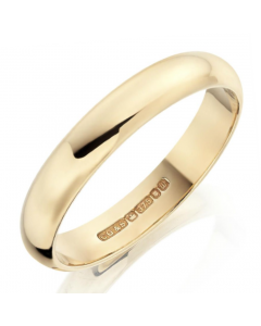 18ct Gold 4mm Wedding Ring By Charles Green