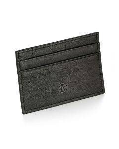 Fred Bennett Black Leather Cardholder