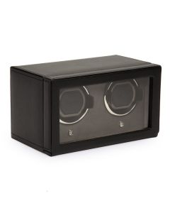 Wolf Double Cub Watch-Winder with Cover