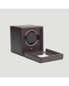 Wolf Brown Cub Watch Winder with Cover