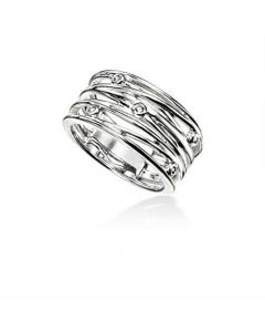 Elements Silver Wrapped Ring
