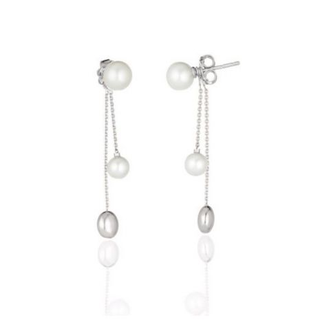 Chimento Armillas Acqua Pearl Drop Earrings