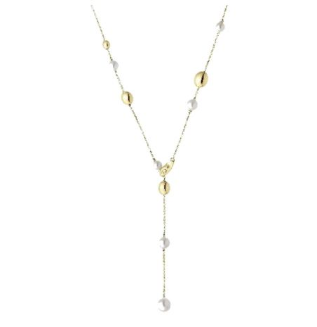 Chimento 18ct Gold Armillas Acqua Pearl Necklet