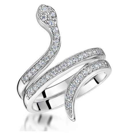 Jools by Jenny Brown Snake Ring