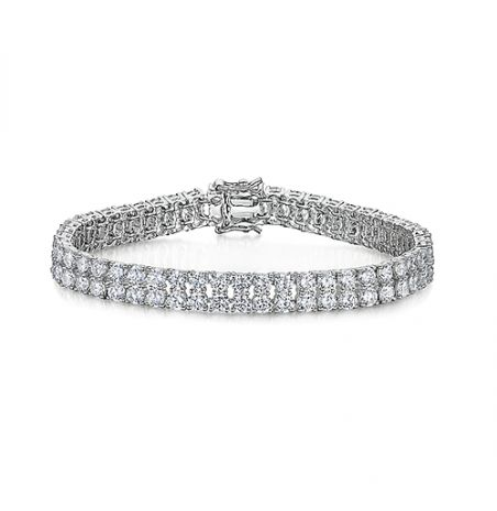Jools by Jenny Brown Double Row Tennis Bracelet