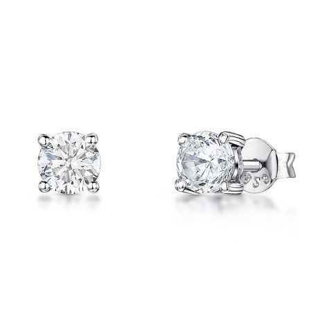 Jools by Jenny Brown Cubic Zirconia and Sterling Silver Earrings product image