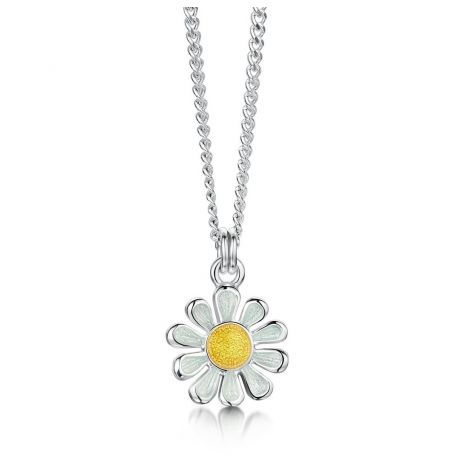 Sheila Fleet Daisies at Dawn Necklace Petite