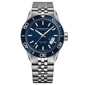 Raymond Weil Freelancer automatic mens diver watch 2670 ST3 50001EDIT