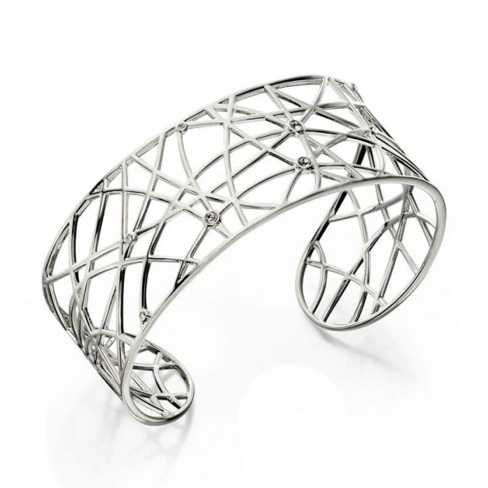 Elements Silver bangle